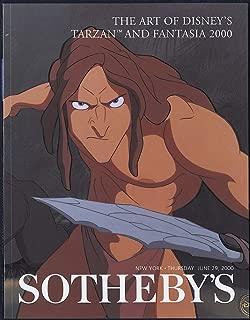 Sotheby's : The Art of Disney's Tarzan and Fantasia 2000 : June 29, 2000 : Sale 7491