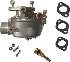 mdairc 8N9510C Carburetor Replacement for Ford Tractor 2N 8N 9N Marvel Schebler Heavy Duty TSX33 TSX241A TSX241B TSX241C 13876 0-13876 B3NN9510A 9N9510A