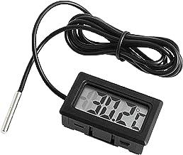 Mini affichage numérique électronique Lcd intégré Fahrenheit Thermomètre Fish Tank Réfrigérateur Compteur de température d...