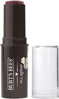 Burt's Bees 100% Natural Origin All Aglow Lip & Cheek Stick, Dahlia Dew - 1 Tube