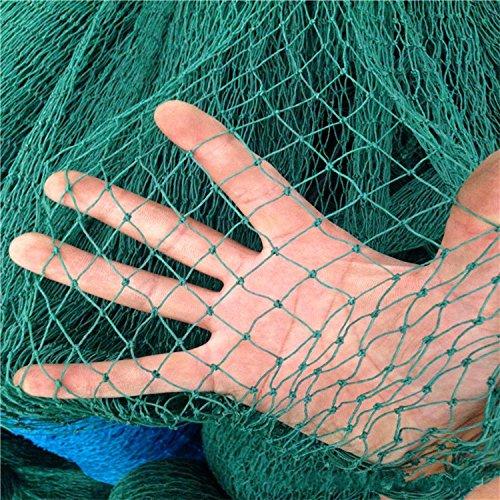 Mitefu Filet Polyvalent En Polyéthylène pour Plantes Grimpantes L'aviculture Les Courts de Tennis, 12 brins, W1.5xL18m, Taille de Maille: 4x4cm