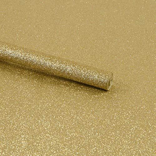 Glitzerstoff Zuschnitt 66 x 45 cm gold basteln Accessoires Taschen - Preis gilt für 1 Rolle