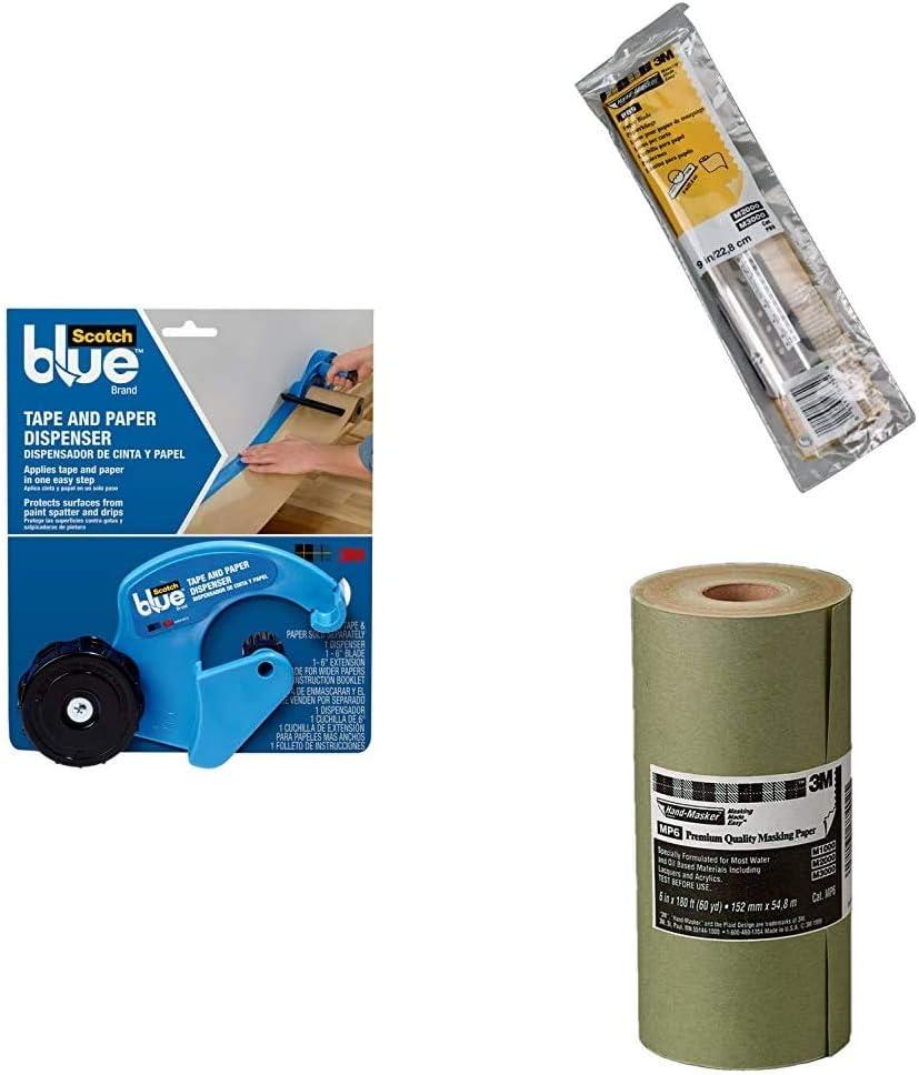 Excellent 70% OFF Outlet ScotchBlue Masking Tape and Blade Paper Dispenser 9-inch