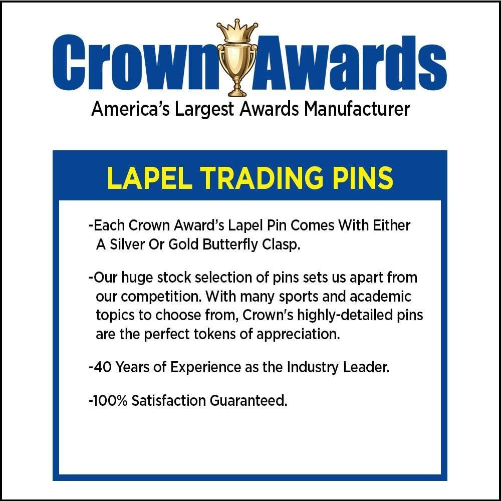Star Performer Lapel Pins - Gold Star Diestruck Pins Prime