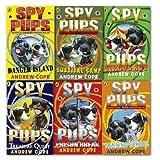 Andrew Cope Spy Pups collection 6 Books set (Danger Island, Prison Break, Sur...