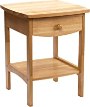 Winsome Wood 82218 Claire Accent Table, Natural