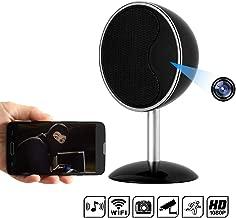 Hidden Camera Speakers - Spy Camera 170 Degree 1080P WiFi HD Night Vision Mini Camera Video Recorder Wireless Nanny Cam