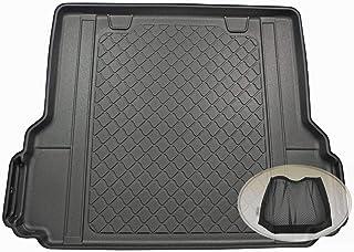 ZentimeX Z3289365 Gummierte Kofferraumwanne fahrzeugspezifisch + Klett Organizer (Laderaumwanne, Kofferraummatte)