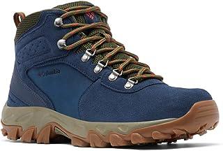 حذاء نيوتن ريدج بلس 2 للرجال من كولومبيا، حذاء شامواه مقاوم للماء وجيد التهوية، عالي الثبات مناسب للتسلق