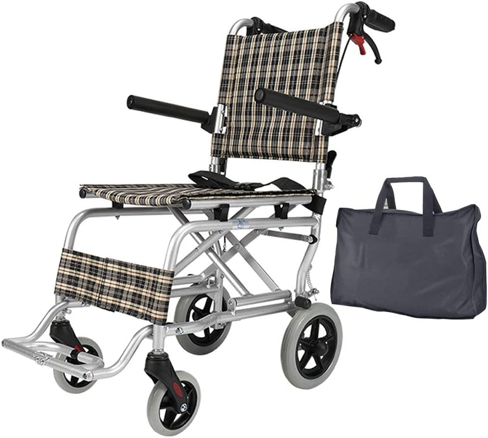 Wheelchair Lightweight Outlet SALE Folding Transit Travel Portabl Max 81% OFF Bags with