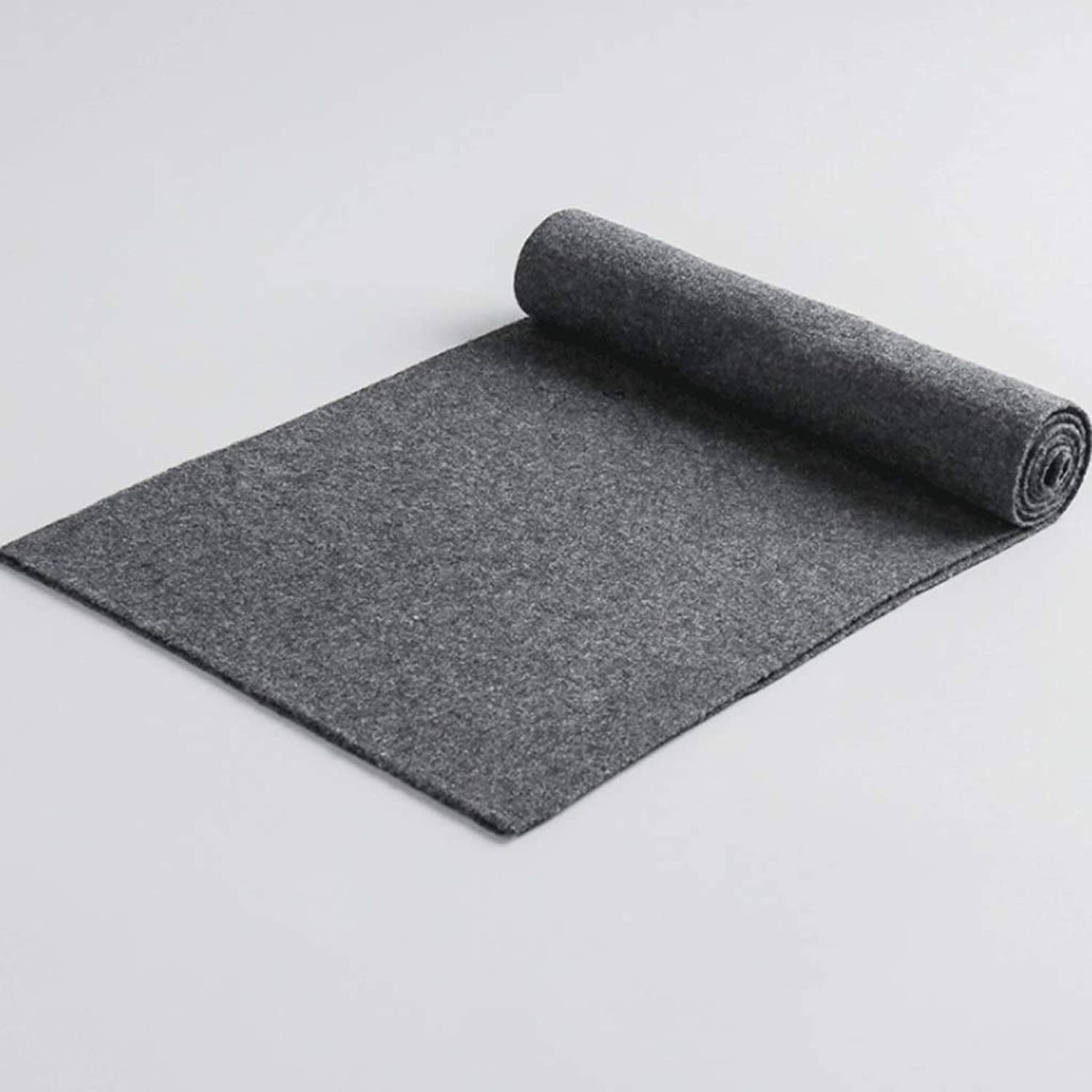 WXL Scarf Knitted Solid color Collar Thick Warm Scarf is Soft and Comfortable Unisex Feels Delicate V (color   Dark Grey)