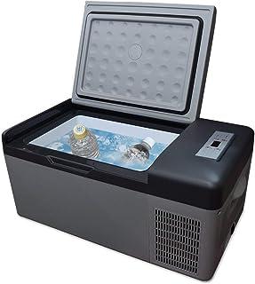 冷蔵庫 車載用 12/24V対応 (LCH-25) 15L シガーソケット 家庭用電源 2WAY電源 冷凍庫 クーラーボックス ポータブルサイズ 低電圧保護 冷蔵保温 静音設計 キャンプ バーベキュー スポーツ LCH-25 LCH-25-1