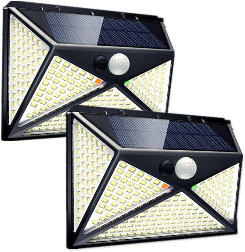 Solar Motion Sensor Light Outdoor Superlatite Upgraded 270 w Lights Deck Led Store