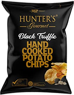 Hunter's Gourmet Hand Cooked Potato Chips - Black Truffle, Gold Edition, 125 gm