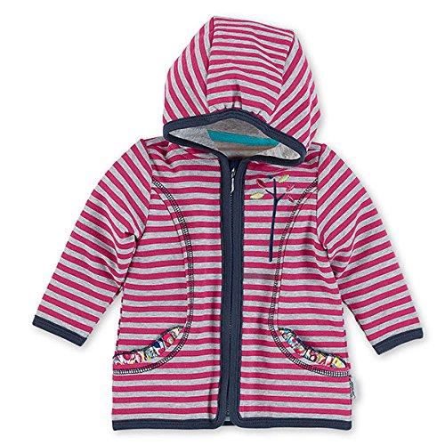 Sterntaler GmbH (Apparel NEW) Sterntaler Baby-Mädchen 2621621 Kapuzenpullover, Rosa (Magenta 745), 56