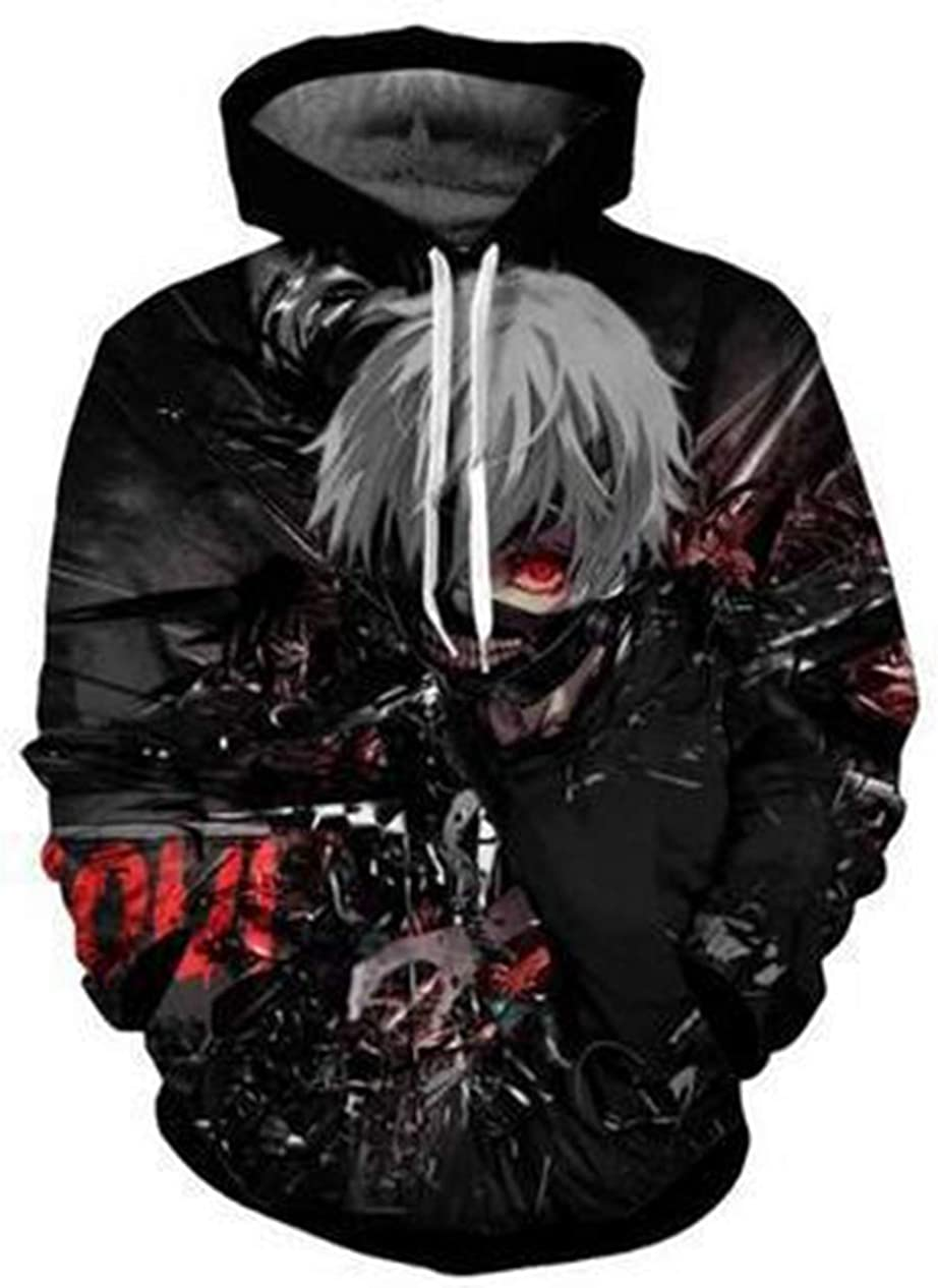 At the price Soul Unisex Novelty 3D NEW Printed with Gho The Japanese Anime Tokyo