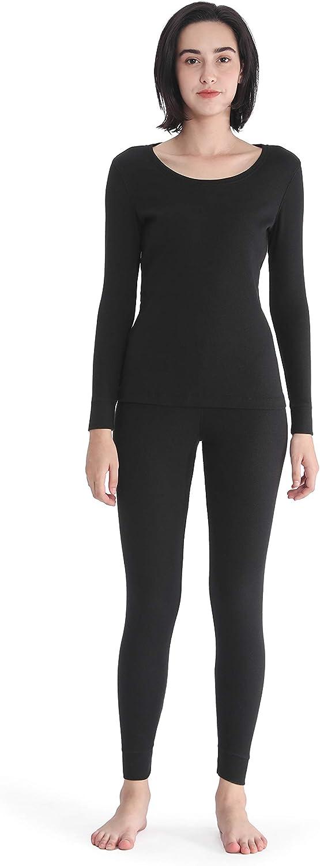 Femofit Women's Thermal Underwear Long Johns Set Ultra Soft Top Bottom Winter Warm Base Layer Set S~XL