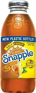 Snapple - Half 'n Half - Tea and Lemonade - 16 fl oz (24 Plastic Bottles)