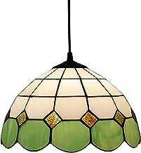 Tiffany Style Żyrandole Bar Jadalnia Sypialnia Kawy Lampy Sufitowe Amerykański Duszpasterski Witraż Dekoracji Wisiorek XXSHN