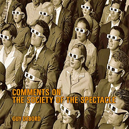 Comments on the Society of the Spectacle audiobook cover art
