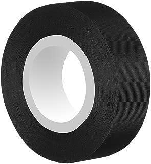 Tuloka 30mアセテート粘着テープ 温度範囲-40℃~250℃ 布テープ 電線の絶縁保護補修用 家電製品の配線固定結束用 車の内装用 黒