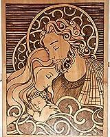 DIY5Dダイヤモンド絵画イエス聖母マリアギフト子供の寝室の装飾