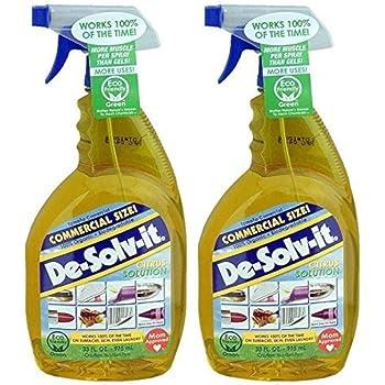 De-Solv-It Citrus Solution 33 oz Each (2 Packs)