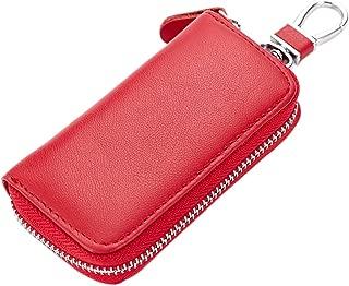 Bravo Crafts custodia portachiavi in pelle con porta carte di credito