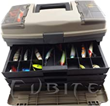 A0127 Angelbox f/ür Angelger/äte 15 Gitter Angelk/öder Angelmaschine L/öffel verstellbar multifunktional Aufbewahrung von Gadgets kleine Werkzeugkasten Haken