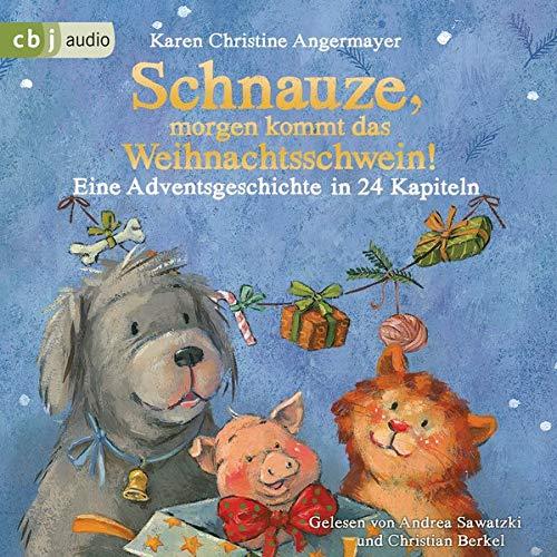 Schnauze, morgen kommt das Weihnachtsschwein! Eine Adventsgeschichte in 24 Kapiteln Titelbild