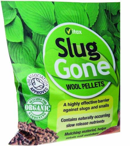 Vitax 1L Slug Gone - Granulés en Laine Naturelle