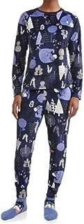 Women's Eeyore Plush Velour 3-Piece Sleepwear Pajama Set