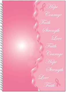 House of Doolittle 2020 Monthly Planner and Journal, Breast Cancer Awareness, 7 x 10 Inches, January - December (HOD5226-20)