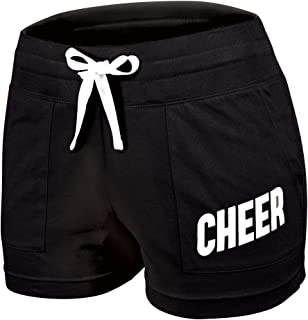 Classic 100% Cotton Cheerleading Practice Short with Drawstring -
