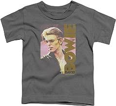 Sons of Gotham David Bowie Smokin Toddler T-Shirt
