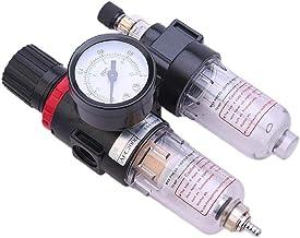Odoukey AFC 2000 Filtro BSPP neumático Regulador de Agua Separador de Aceite Filtro de Aire de Dos Piezas de la Fuente de Aire del procesador