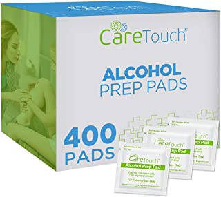 Sponsored Ad - Care Touch Alcohol Prep Pads, Medium 2-Ply - 400 Wipes