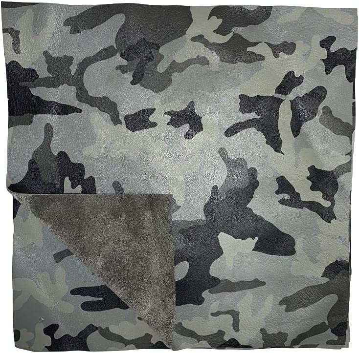Camouflage Cowhide Leather: 8.5