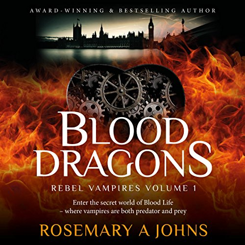 Blood Dragons audiobook cover art