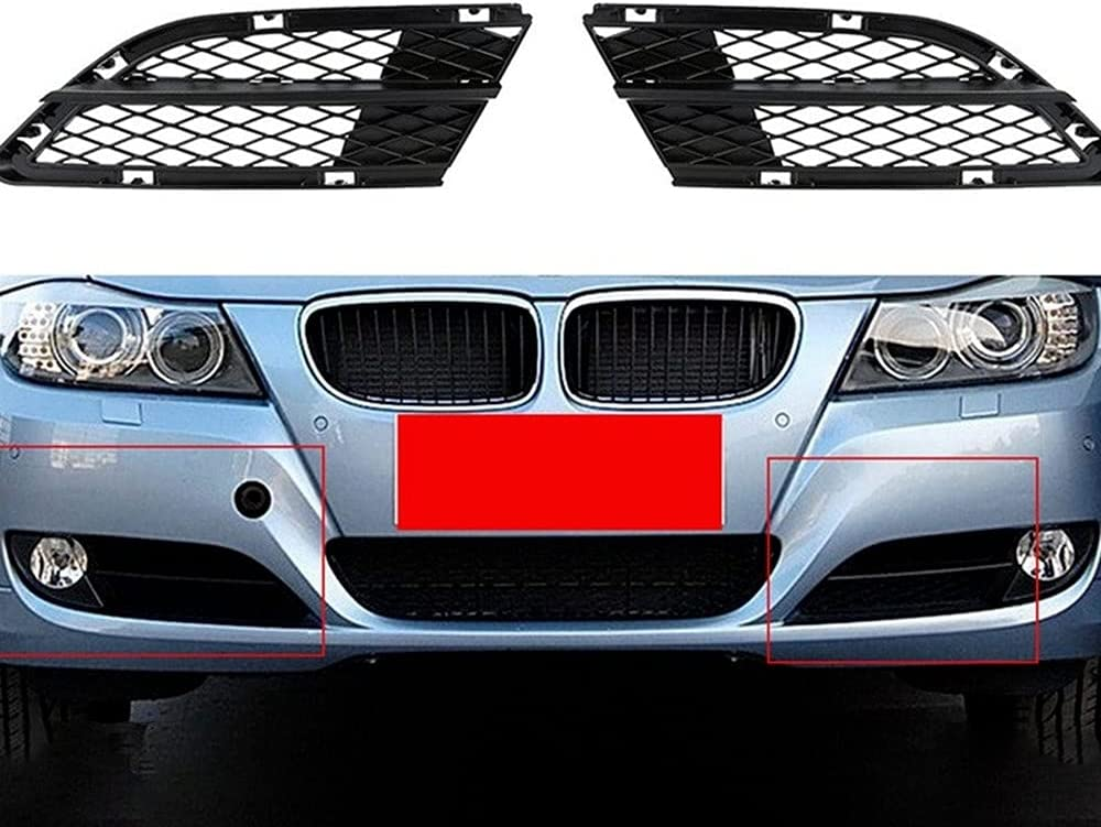 AFKEMEUN Car New popularity Front Bumper Low Fog Mesh for-B Grille Grill Light Discount is also underway