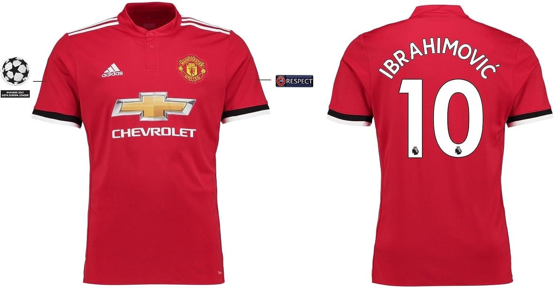 Trikot Herren Manchester United 2017-2018 Home UCL UCL UCL - Ibrahimovic 10 B075XRXG5N  Bevorzugte Boutique 8f3cb6