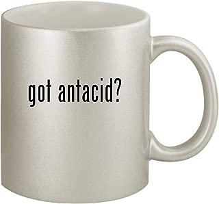 got antacid? - Ceramic 11oz Silver Coffee Mug, Silver