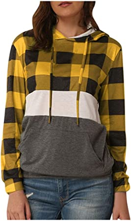 ZODOF blusas mujer Moda Camiseta Casual Manga larga ...