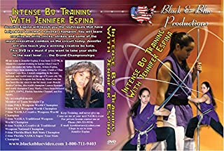 Jennifer Espina Intense Bo Staff Training Techniques DVD karate tournament forms