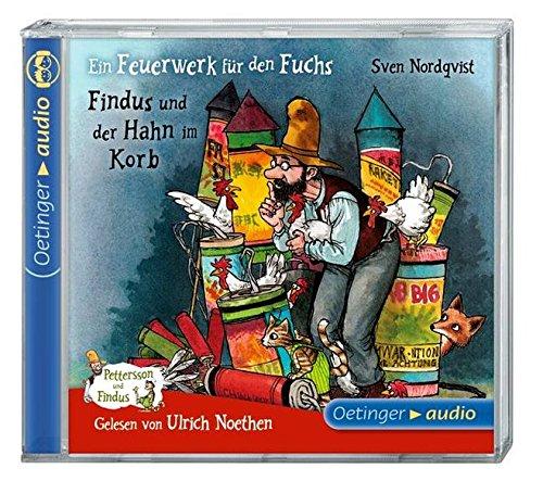 Ein Feuerwerk für den Fuchs/ Findus und der Hahn im Korb (CD): Ungekürzte Lesung, neu, 42 Min.