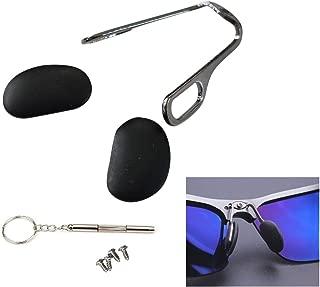 AM Landen Sunglasses Black Silicone Nose Pads Eyeglass Nose Pads Arm Repair Kit