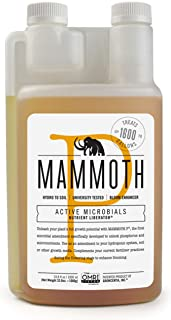 Mammoth Microbes Organic Bloom Booster   Hydroponic Nutrient (1 Litre -1000ml)   University Developed and Growers Approved