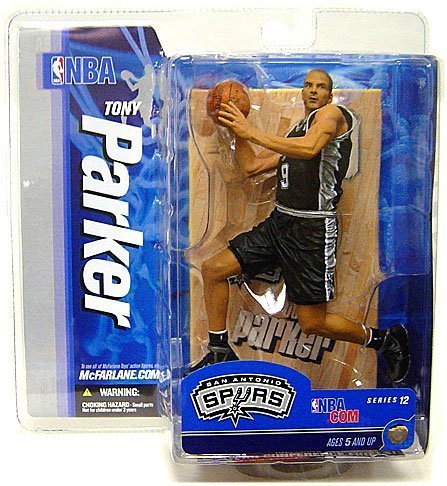 TONY PARKER San Antonio Spurs Basketball Figure NBA 12 McFarlane Toys Collectible by Unknown