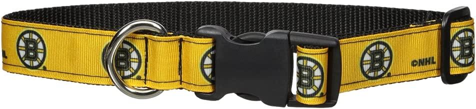 All Star تريفثالات الأثيلين المتعدد PET Dogs Boston Bruins الياقة, yellow, Large