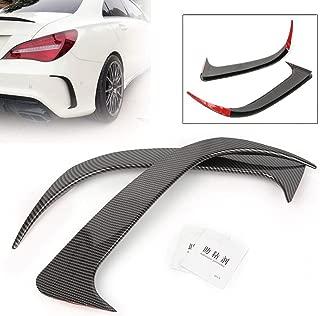 Aspeike Black Canard//Air Vent Cover Trim for Benz W117 CLA250//200 CLA45 AMG